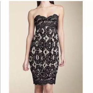 Diane Von Furstenberg  jacquard strapless dress 2